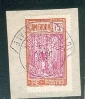 CAMEROUN KAMERUN N°140  OB RARE SUR FRAGMENT A COLLERETTE MOKDIO AGENCE SPECIALE 28 JANVIER 1934 TB - Cameroun (1915-1959)