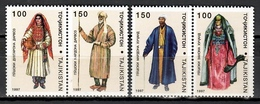 Tajikistan 1997 / Folk Costumes MNH Trajes Tipicos Folklore Kostüme / Cu10928  C5 - Culturas