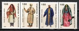 Tajikistan 1997 / Folk Costumes MNH Trajes Tipicos Folklore Kostüme / Cu10928  C5-30 - Otros