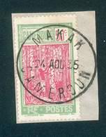 CAMEROUN KAMERUN N°119  OB RARE SUR FRAGMENT MAKAK 24 AOUT 1935 TB - Cameroun (1915-1959)