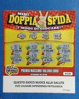 ITALIA BIGLIETTO LOTTERIA GRATTA E VINCI USATO € 2,00 MINI DOPPIA SFIDA LOTTO 1160 ITALY LOTTERY TICKET - Billetes De Lotería