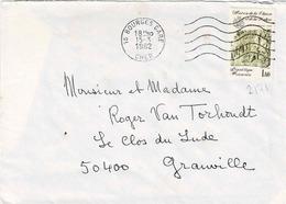 TP N° 2171 Seul Sur Enveloppe De Bourges - Marcophilie (Lettres)