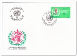 Zwitserland 1986, FDC, WHO-emblem - FDC