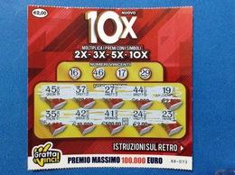 BIGLIETTO LOTTERIA GRATTA E VINCI USATO € 2,00 NUOVO 10X - Biglietti Della Lotteria