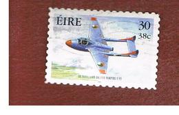 IRLANDA (IRELAND) - SG 1370  -   2000   MILITARY AVIATION: VAMPIRE  T55    - USED - 1949-... Repubblica D'Irlanda