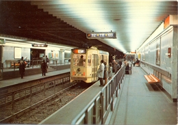 Belgique - Bruxelles - Le Métro - Ligne 2 - Station Arts-Lois - Ministère Des Communications Nº 4 - 6146 - Transport Urbain Souterrain
