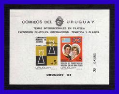 1981 - Uruguay - Mi. BH 52 -  N / Dentado - MNH - UR- 335 - Uruguay