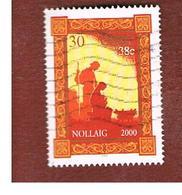 IRLANDA (IRELAND) - SG 1373  -   2000  CHRISTMAS    - USED - 1949-... Repubblica D'Irlanda