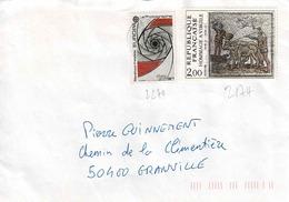 TP N° 2174 Et 2270l Sur Enveloppe De ?? - 1961-....