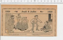 2 Scans Humour De 1920 Député Chambre Des Députés Cartomancienne Tireuse De Cartes Hibou Lignes De La Main 216E7 - Vieux Papiers