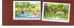 IRLANDA (IRELAND) - SG 1422.1423  -   2001  EUROPA (COMPLET SET OF 2)    - USED - 1949-... Repubblica D'Irlanda