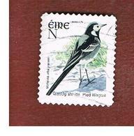 IRLANDA (IRELAND) - SG 1495c  -   2003  BIRDS: MOTACILLA ALBA  (N)   - USED - 1949-... Repubblica D'Irlanda