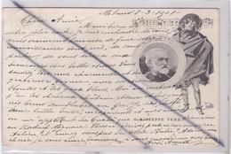 Italie ; Giuseppe VERD Le Sue Opere Principali (Milano Le 8 / 3 /1901,carte Précurseur) - Milano (Milan)