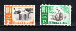 Sierra Leone - 1963. Silos E Raccolta Ortaggi. MNH - Alimentazione