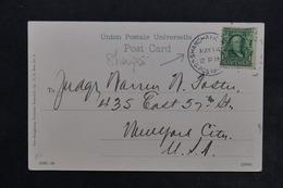 CHINE - Oblitération De Shangaï  ( Bureau Américain ) Sur Carte Postale En 1914 - L 24522 - China
