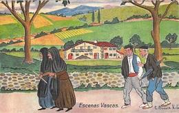 PAYS BASQUE - Espagne ESCENAS VASCAS - Illustrateur BOADA ROLIN ( Edition Gregorio G GALARZA San Sebastian) *PRIX FIXE - Andere Illustrators