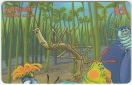 USA B-585 Prepaid  - Cinema, Walt Disney, A Bug's Life (Puzzle 1 Of 4) - FAKE - Etats-Unis