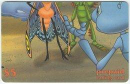 USA B-588 Prepaid  - Cinema, Walt Disney, A Bug's Life (Puzzle 4 Of 4) - FAKE - Etats-Unis