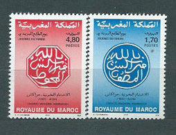 Marruecos Frances - Correo 1994 Yvert 1172/3 ** Mnh  D�a Del Sello - Marruecos (1956-...)