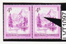 LVT1097 ÖSTERREICH 1973 Michl 1430 PLATTENFEHLER Weißer FARBFLECK ** Postfrisch - Abarten & Kuriositäten
