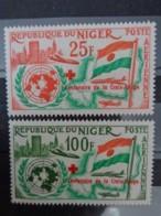 NIGER 1961  P.A.  Y&T N° 19 & 20 ** - ANNIVERSAIRE DE L'ADMISSION DU NIGER A L'ONU - Niger (1960-...)