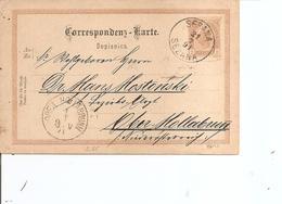 Autriche ( EP De 1891 De Sesana Vers Hollabrunn à Voir) - 1850-1918 Empire