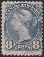 Canada  .  Scott  .  44   .   12x12  ( O )   .    O    .  Cancelled     .   /    .  Gebruikt - 1851-1902 Reign Of Victoria