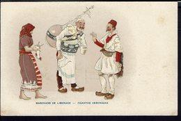 """Grèce - Carte Postale """"Marchand De Limonade"""" Ecrite En 1918 - B/TB - - Griekenland"""