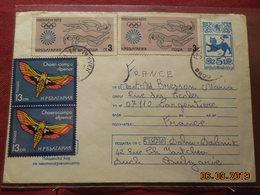 Lettre (entier Postal)  De 1972 A Destination De France - Bulgarien