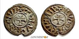 LOUIS Ier LE PIEUX Denier Toulouse (SANS LE I) - 751-987 Monnaies Carolingiennes