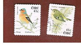 IRLANDA (IRELAND) - SG 1493.1494  -   2002    BIRDS:  - USED - 1949-... Repubblica D'Irlanda