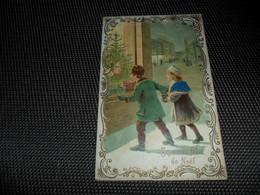 Carte ( 74 )  Gaufrée  Reliëf  Fillette  Enfants - Enfants
