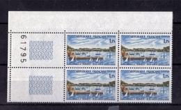BLOC DE QUATRE N° 1585 (numéroté 61795) NEUF** - Unused Stamps