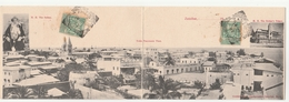 Cartolina - Postcard / Non Viaggiata - Unsent  -  Zanzibar, Cartolina Doppia  - Panorama - Cartoline