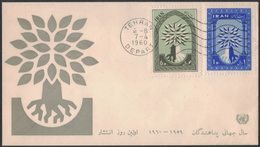YN70   Iran 1960 FDC World Refugee Year No Address - Iran
