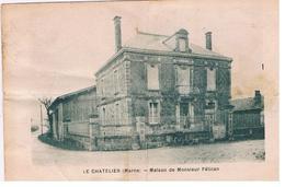 CPA LE CHATELIER Maison M Pelican - France
