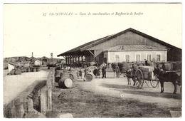 FRONTIGNAN (34) - Gare De Marchandises Et Raffinerie De Soufre - Ed. Mallevialle Photo Maury, Frontignan - Frontignan