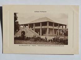 C.P.A.  : CONGO : BRAZZAVILLE : Plaine Habitation Particulière (Ancienne Banque) - Brazzaville
