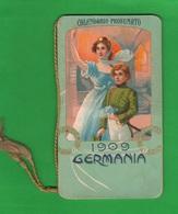 Calendarietto Saponi E Profumi 1909 Edito F.lli Damerini Di Forlì - Tamaño Pequeño : 1901-20