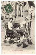 GRISOLLES (82) - Femmes Fabricant Des Balais - Ed. Labouche Frères, Toulouse - Grisolles