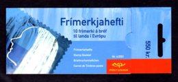 EUROPA 2001 - ISLANDE - CARNET Yvert C914 - Facit H56 - NEUF** MNH - Europa, L'eau, Richesse Naturelle - Europa-CEPT