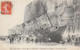 """Fecamp Naufrage Du Chalutier """"augustin Le Borgne""""16 Janvier 1909 (LOT A24) - Fécamp"""