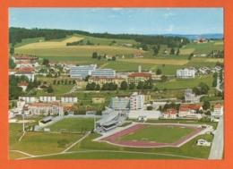 La Chaux-de-Fonds Centre Sportif-Terrains De Football Et D'Athlétisme Plus Vue Sur Les Hôpitaux-Stadiums-Stadio-Stadien - NE Neuchâtel