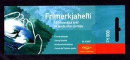 EUROPA 2001 - ISLANDE - CARNET Yvert C915 - Facit H57 - NEUF** MNH - Europa, L'eau, Richesse Naturelle - Europa-CEPT