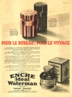 "PUB  ENCRE  ""  WATERMAN   ""    1932  ( 15 ) - Stylos"