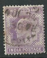 INDE  - Yvert N° 60   Oblitéré    -  Ava27217 - 1902-11 King Edward VII