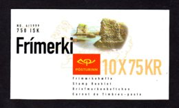 EUROPA 1999 - ISLANDE - CARNET Yvert C867 - Facit H46 - NEUF** MNH - Europa, Réserves Et Parcs Naturels - 1999