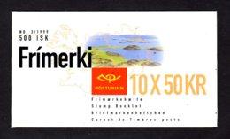 EUROPA 1999 - ISLANDE - CARNET Yvert C866 - Facit H45 - NEUF** MNH - Europa, Réserves Et Parcs Naturels - 1999