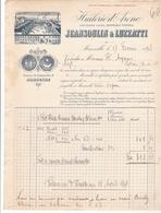 13 // MARSEILLE / HUILERIE D'ARENC.JEANSOULIN & LUZZATTI  / 6 TRAVERSE DU CHATEAU VERT. - Alimentaire