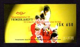 EUROPA 1998 - ISLANDE - CARNET Yvert C840(I) - Facit H41 - NEUF** MNH - Europa, Festivals Nationaux - 1998